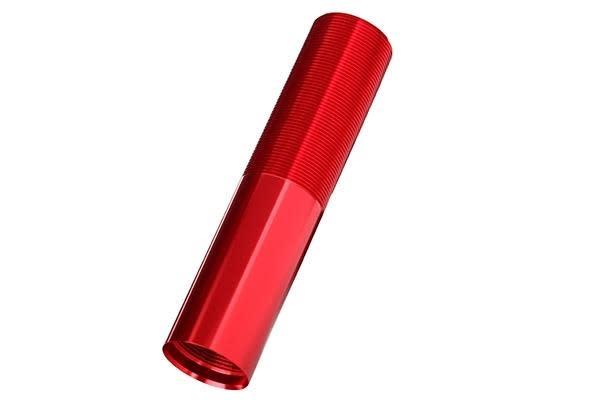 Body, GTX shock (aluminum, Red-anodized) (1), TRX7765R-2