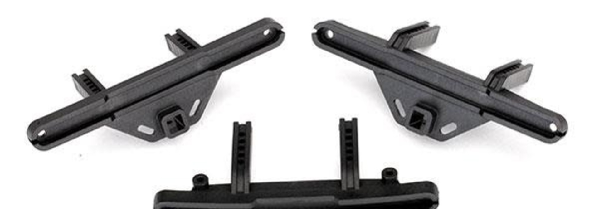 Bumper mounts, front & rear/ bumper mount, rear (offset)