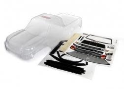 Body, TRX-4 Sport (clear, trimmed, requires painting)/ window masks/ decal sheet-1