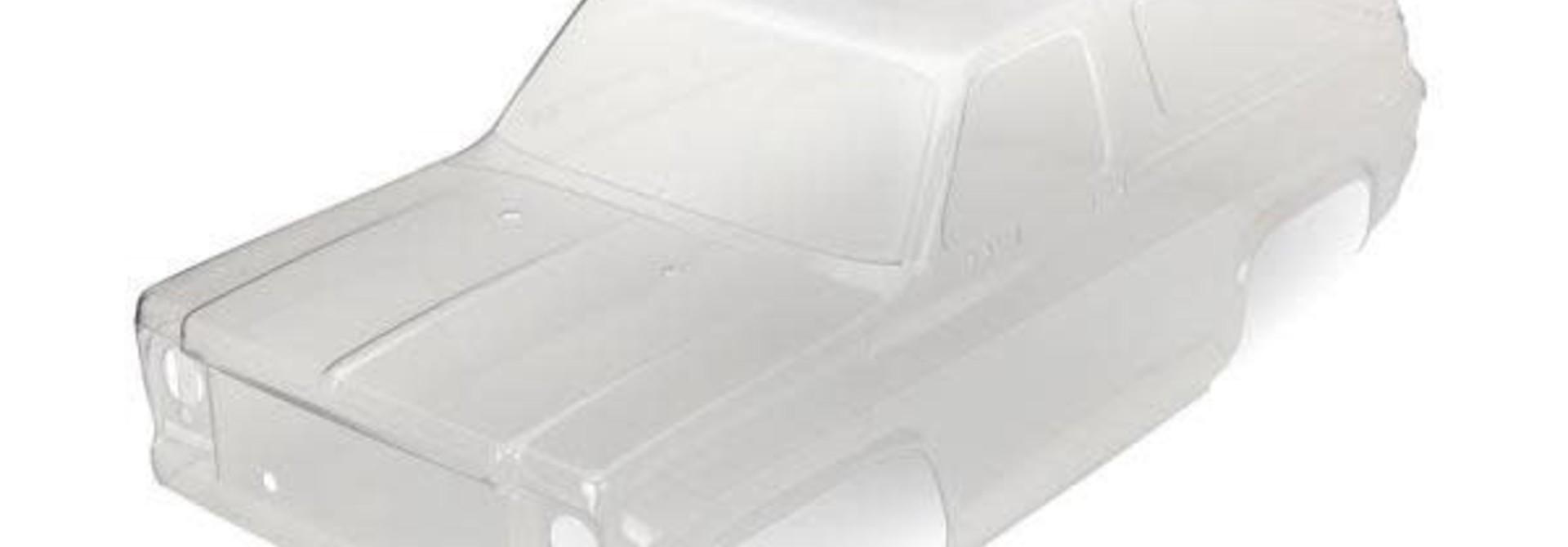 Body, Chevrolet Blazer (1979) (clear, requires painting)/ decals/ window masks, TRX8130