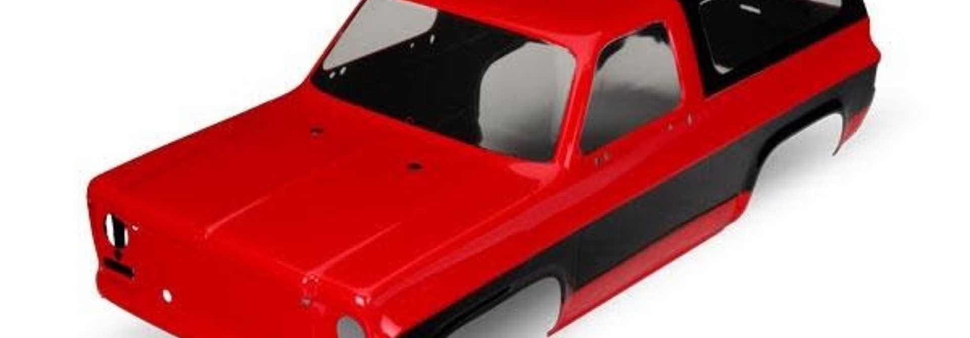 Body, Chevrolet Blazer (1979) (red) (requires grille, side mirrors, door handles, TRX8130A