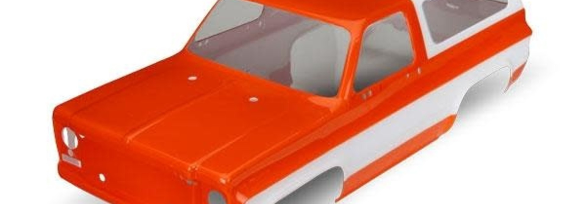 Body, Chevrolet Blazer (1979) (orange) (requires grille, side mirrors, door hand, TRX8130G