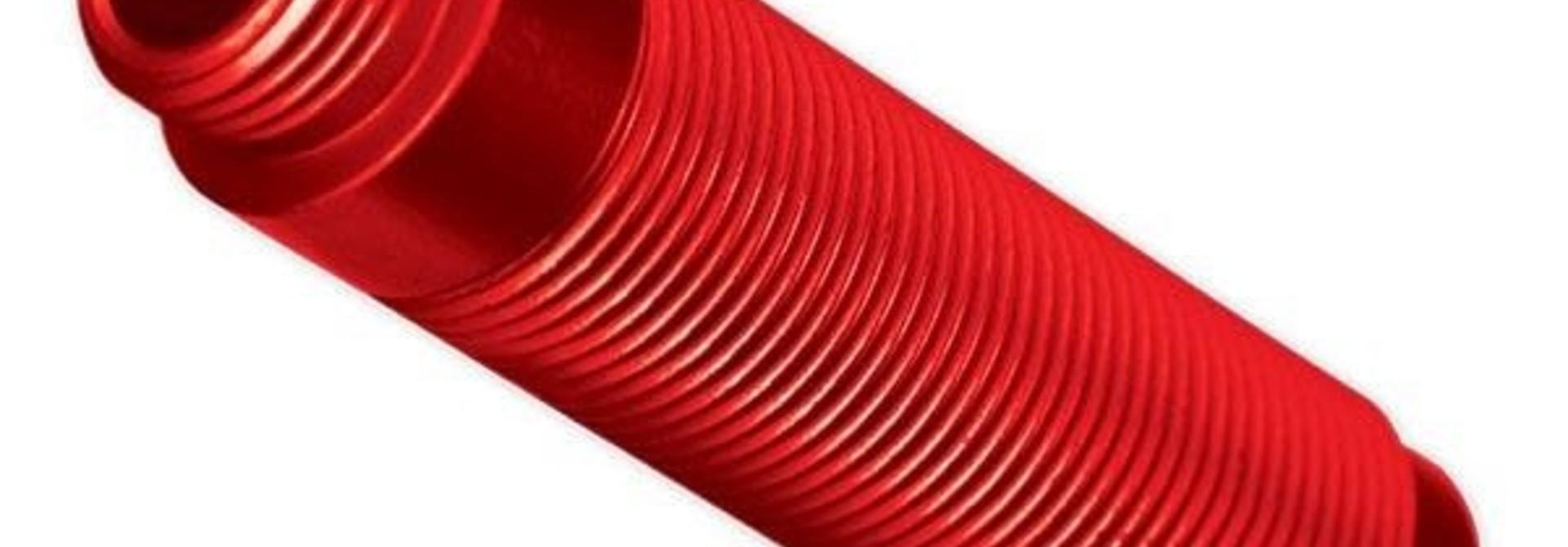 Body, GTS shock, aluminum (RED-anodized) (1), #TRX8266R