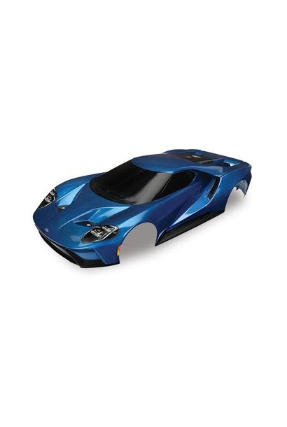 Body, Ford GT, blue (painted, decals applied), TRX8311A