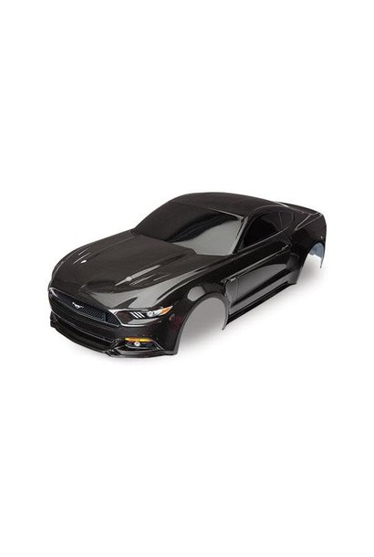 Body, Ford Mustang, black (painted, decals applied), TRX8312X