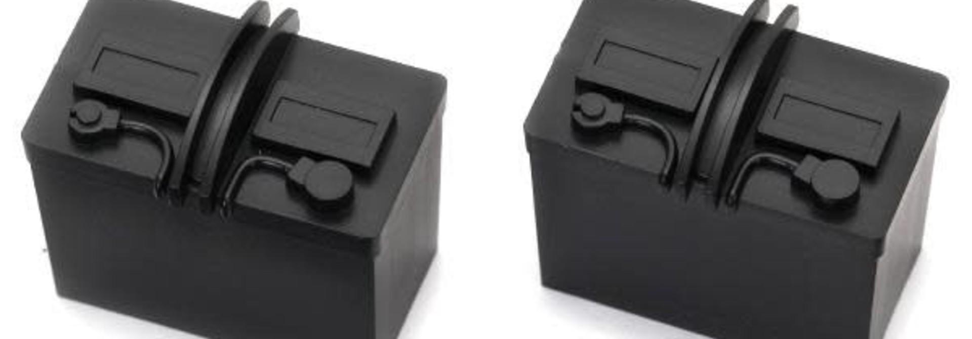 Batteries, black (2)