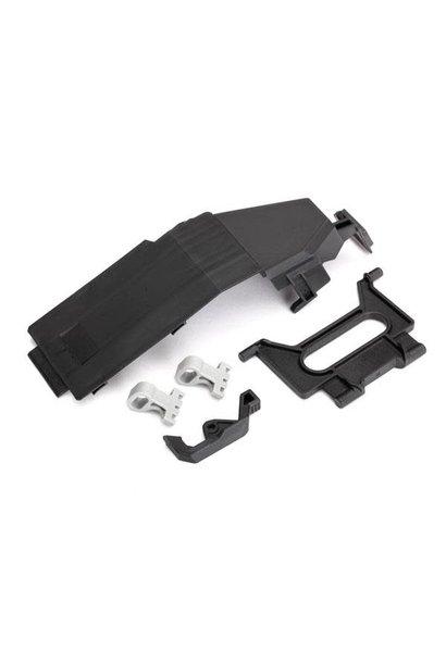 Battery door/ battery strap/ retainers (2)/ latch