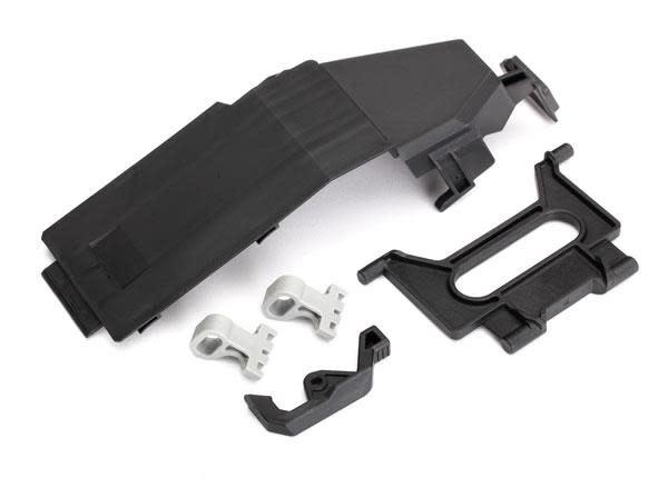 Battery door/ battery strap/ retainers (2)/ latch-1