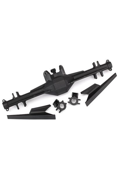 Axle housing, rear/ axle supports, left & right/ axle hub, rear (2)