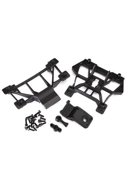 Body mounts, front & rear/ 3x12mm CS (4)/ 3x12mm shoulder screw (2)/ 3x10mm flat