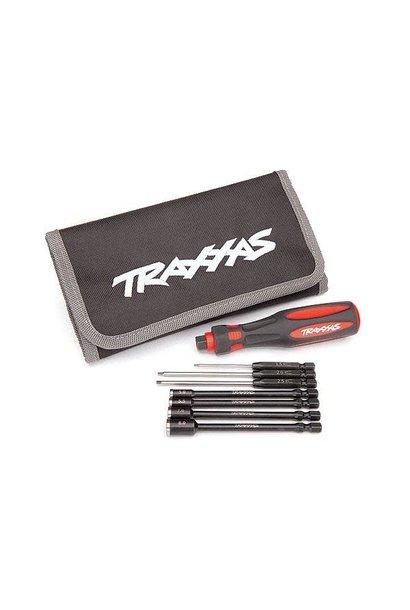 Traxxas Speed Bit Essentials Set, hex and nut driver, 7-piece, includes premium, TRX8712