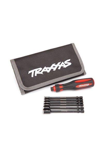 Traxxas Speed Bit Master Set, nut driver, 6-piece, includes premium handle (medi, TRX8719