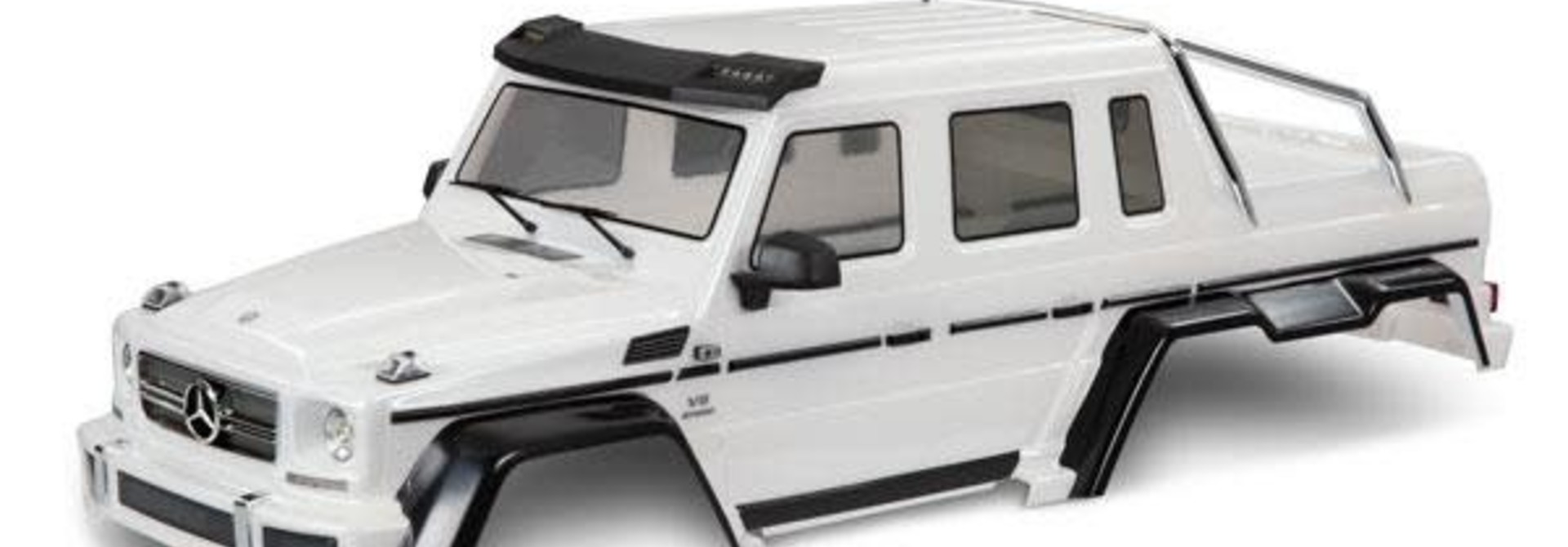 Body, Mercedes-Benz G 63, complete (pearl white) (includes grille, side mirrors, door handles, & windshield wipers)