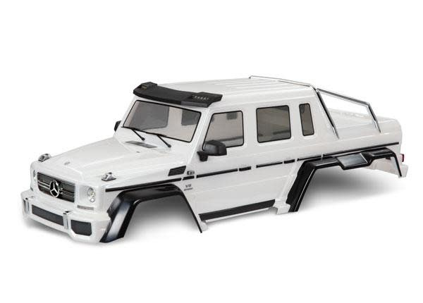 Body, Mercedes-Benz G 63, complete (pearl white) (includes grille, side mirrors, door handles, & windshield wipers)-1