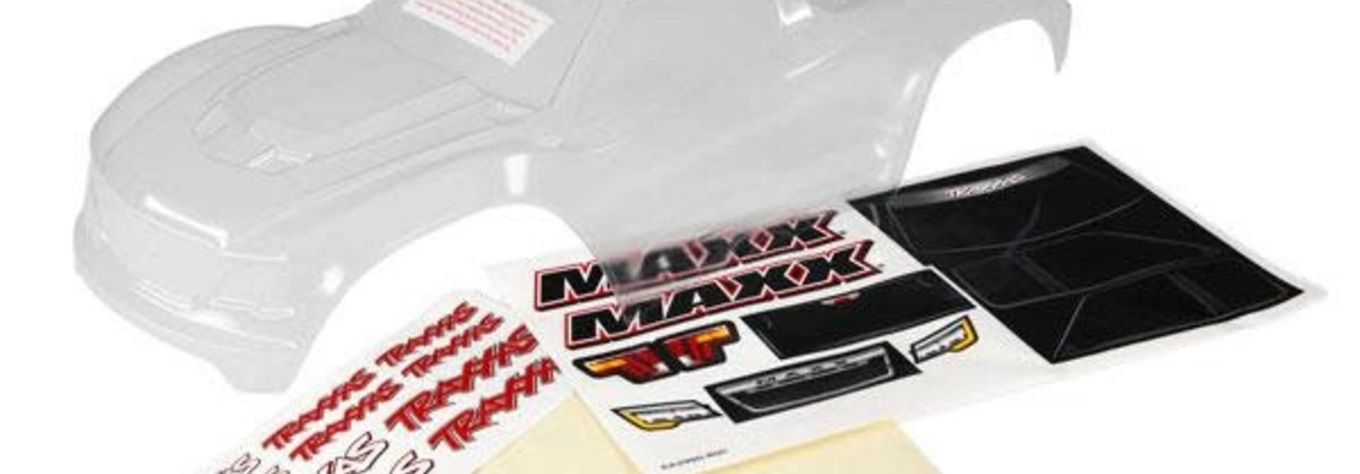Body Maxx Clear Decals