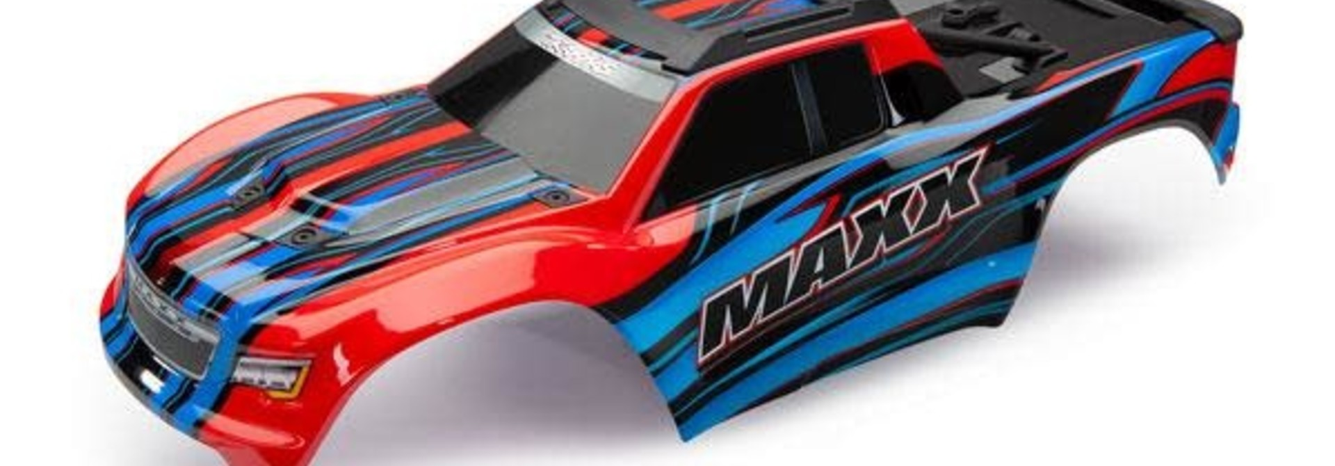 Body, Maxx, red (painted)/ decal sheetBody Maxx Red Decals