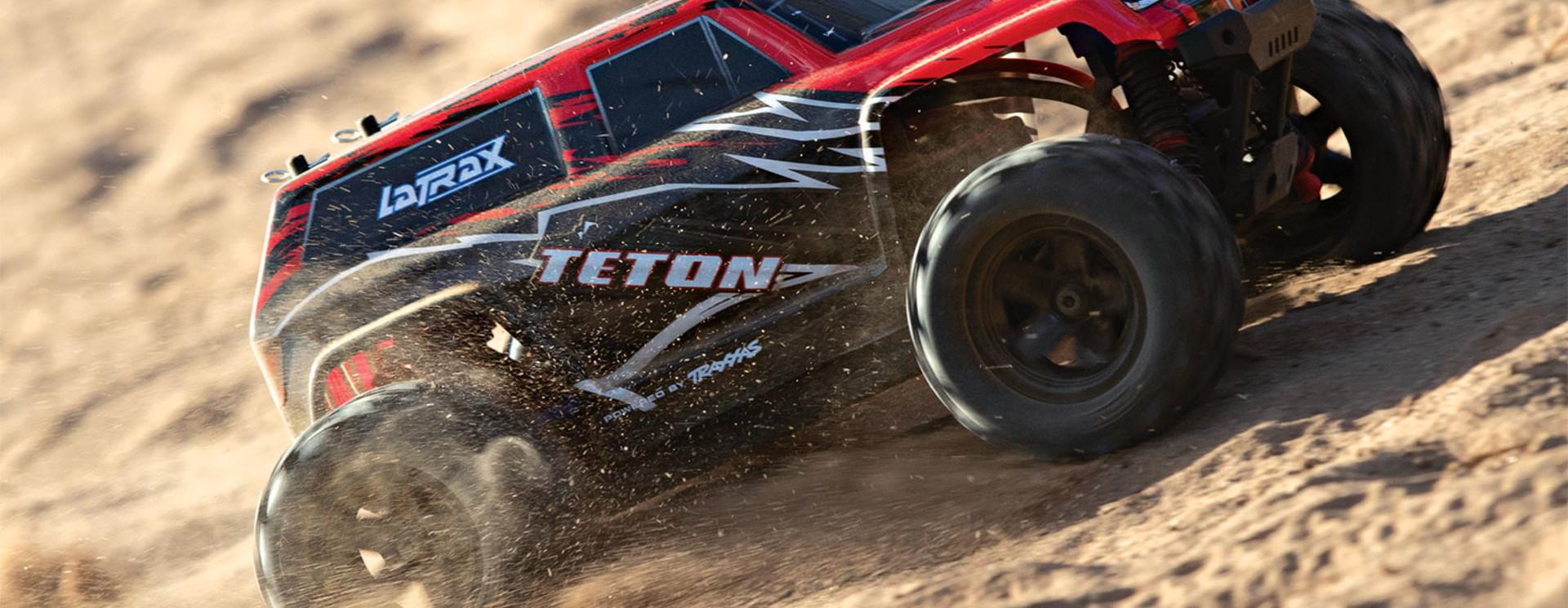 Tekening LaTrax Teton