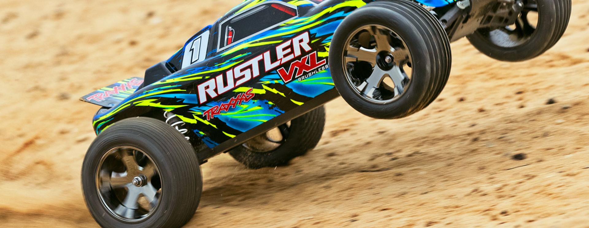 Onderdelen Tekening Rustler 2wd VXL