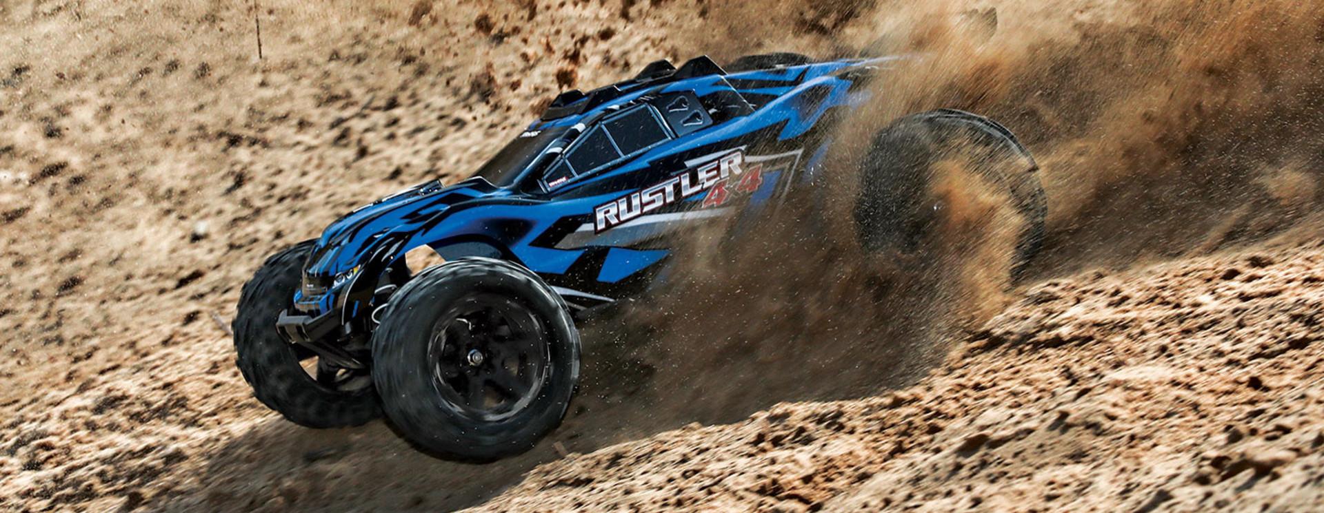 Tekening Rustler 4x4