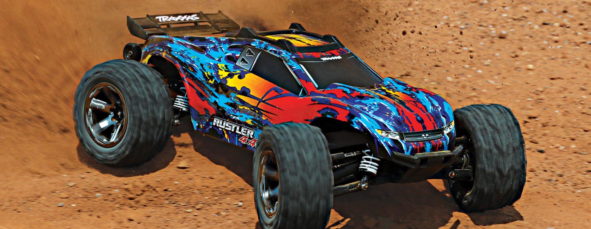 Tekening Rustler 4x4 VXL