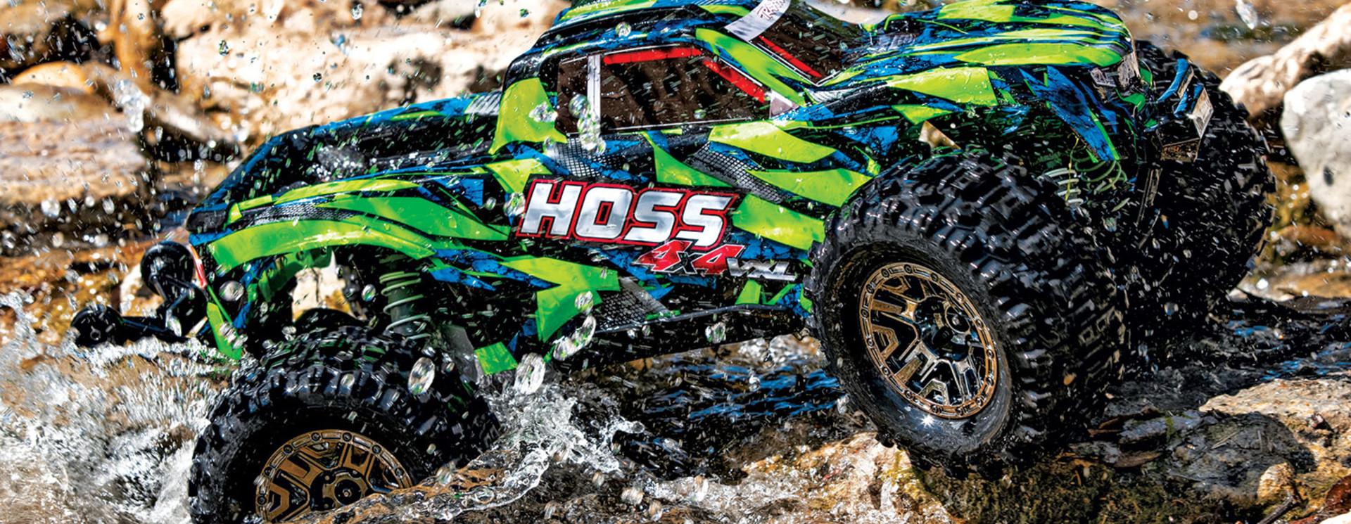 Tekening Hoss 4x4 VXL