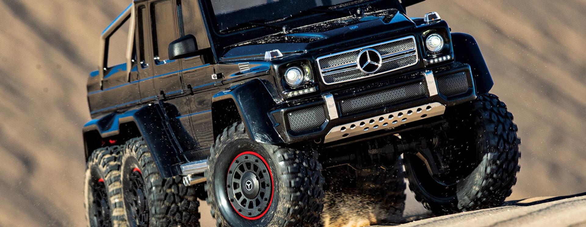 Tekening TRX-6 Mercedes