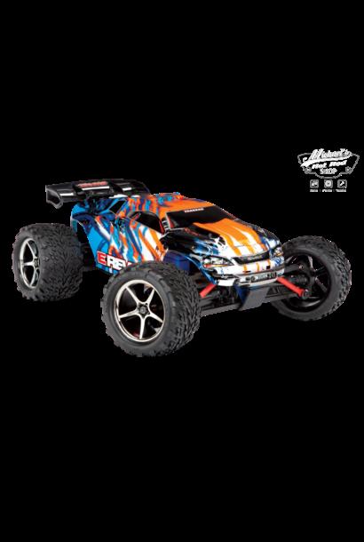Traxxas E-Revo 1/16 4x4 Brushed TQ (incl battery/charger), Orange TRX71054