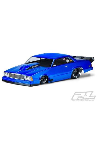 1978 Chevrolet Malibu Clear Body for Slash 2wd Drag Car & AE DR10