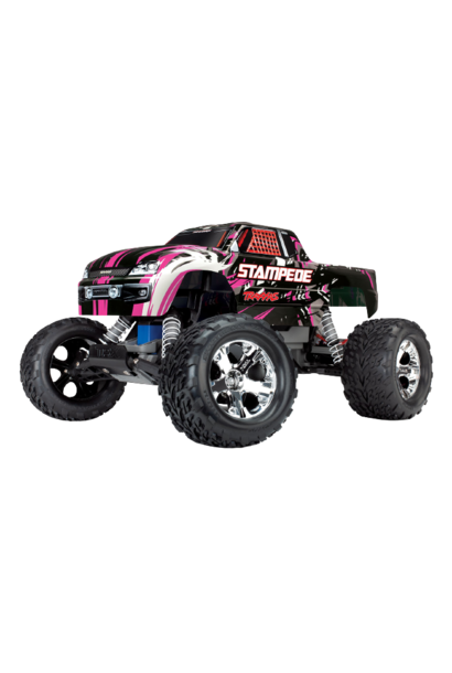 Traxxas Stampede XL-5 TQ (incl battery/charger). PinkX TRX36054-1P
