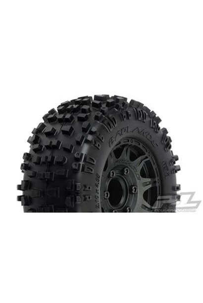 "Badlands 2.8"" MTD Raid Black 6x30 F/R"