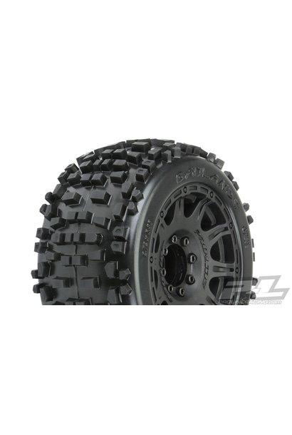 """Badlands 3.8"""" MTD Raid 8x32 Wheels 17mm MT F/R"""
