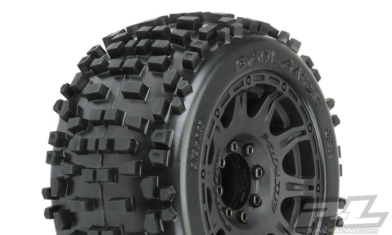 """Badlands 3.8"""" MTD Raid 8x32 Wheels 17mm MT F/R-1"""