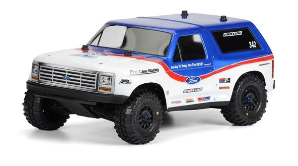 1981 Ford Bronco Clear Body for SC-2
