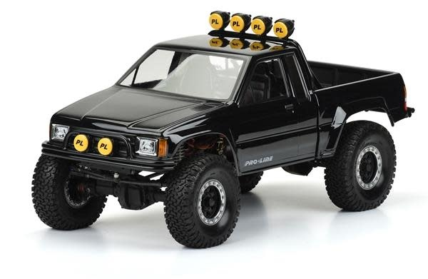 """85 Toyota HiLux Clear Body (Cab/Bed) SCX10 Honcho 12.3""""-2"""