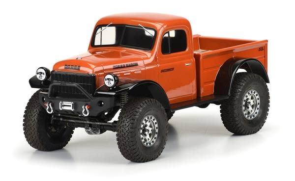 "1946 Dodge Power Wagon Clr Bdy 12.3"" Crawlers-1"