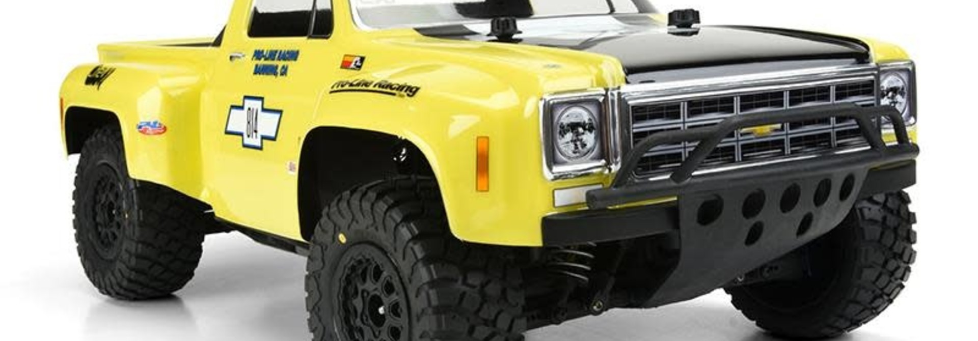 1978 Chevy C-10 Race Truck Clear Body for SC