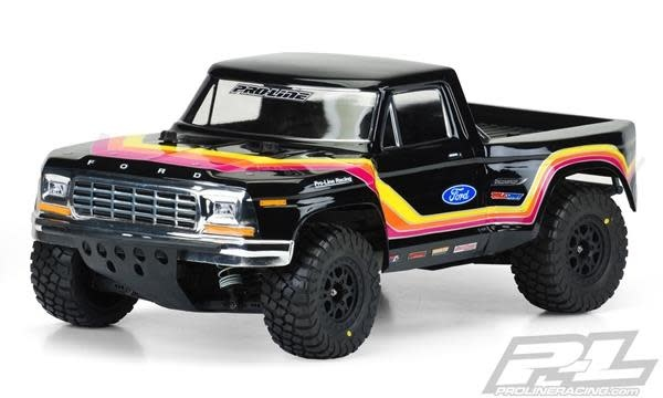 1979 Ford F-150 Race Truck Clear Body for SC-1