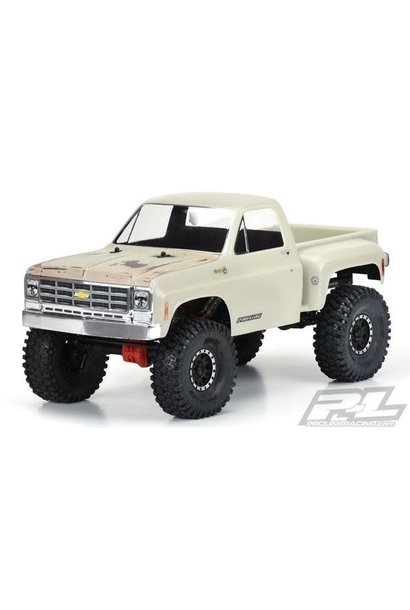 """1978 Chevy K-10 for 12.3"""" WB Scale Crawlers"""