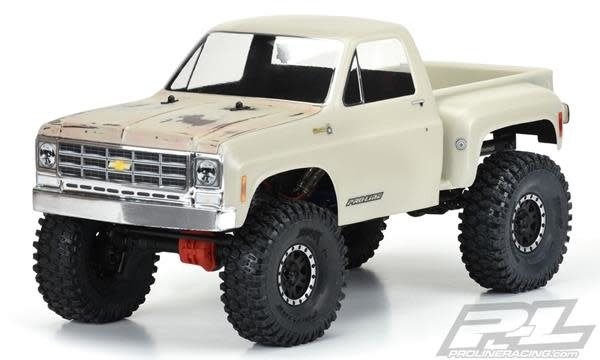 """1978 Chevy K-10 for 12.3"""" WB Scale Crawlers-1"""
