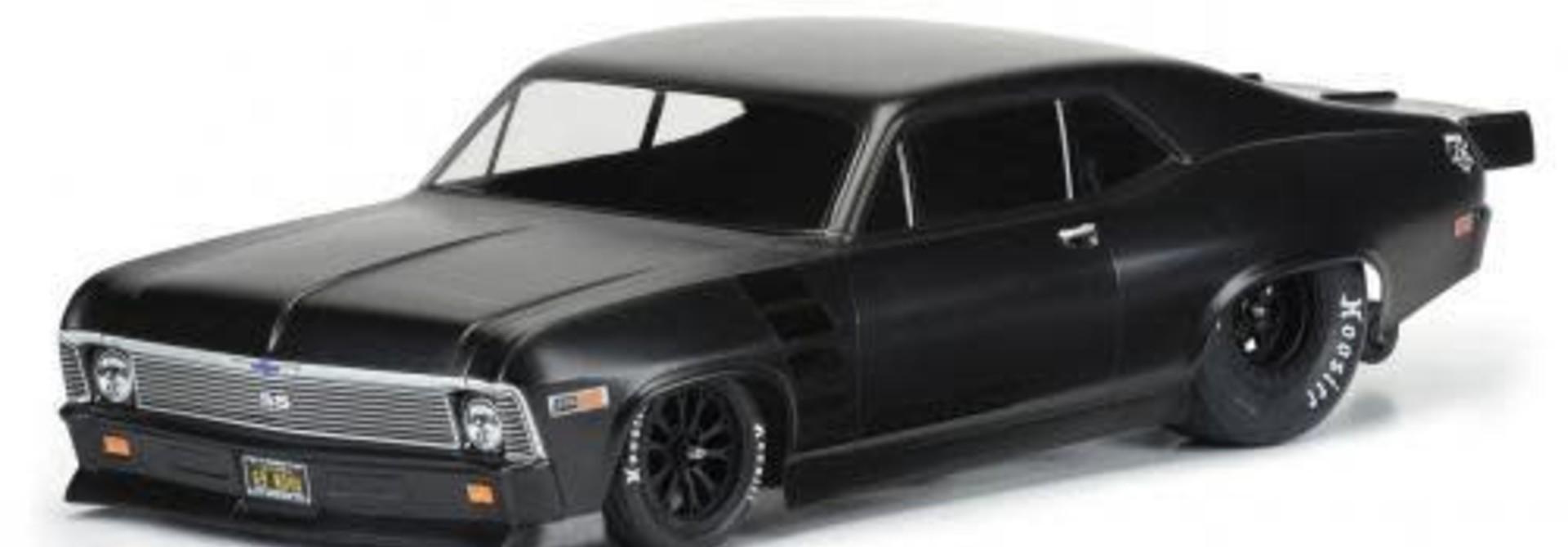 1969 Chevrolet Nova Clear Body Slash 2wd Drag Car