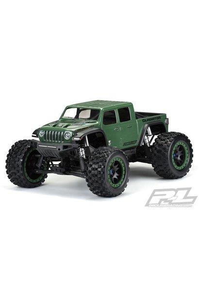 Pre-Cut Jeep Gladiator Rubicon Clear Body X-MAXX