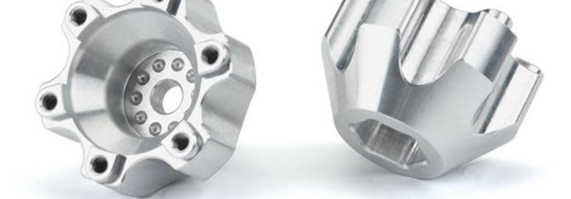 6x30 to 12mm Aluminum Hex Adapters (Wide)