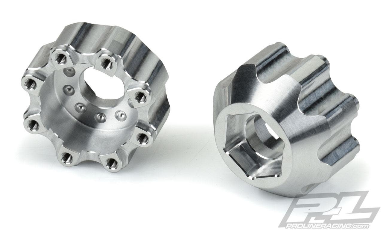 """8x32 to 17mm 1/2"""" Offset Aluminum Hex Adapters-1"""