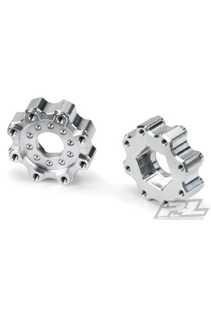 8x32 to 17mm ZERO Offset Aluminum Hex Adapter