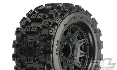 "Badlands MX28 2.8"" MTD Raid Black 6x30 F/R-1"