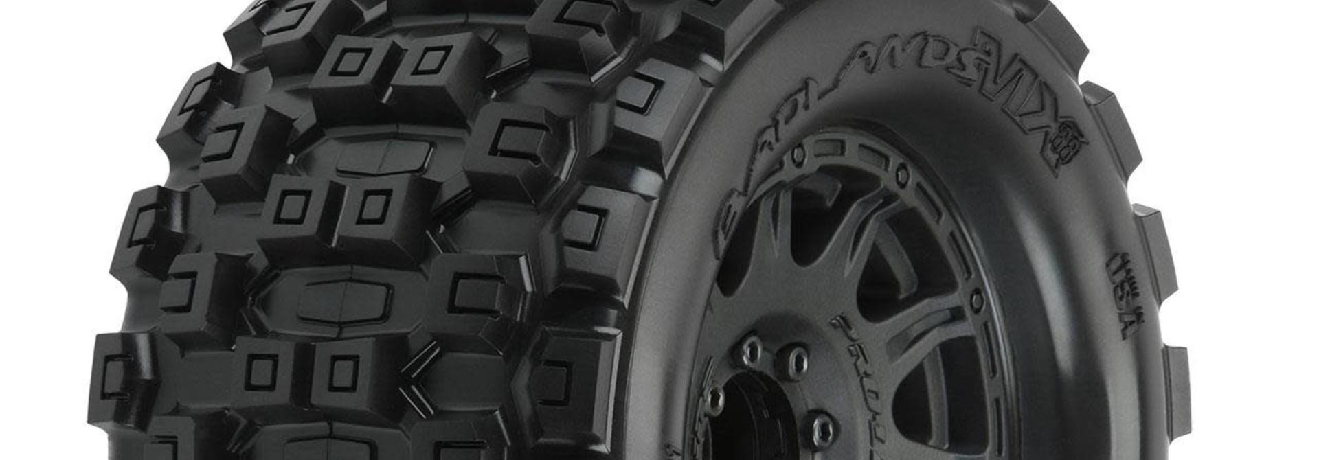 "Badlands MX38 3.8"" MTD Raid 8x32 17mm MT F/R"