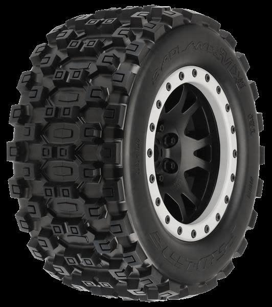 Badlands MX43 X-MAXX MTD Impulse Blk/Gry F/R-2