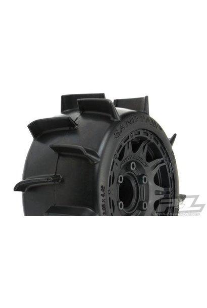 "Sand Paw LP 2.8"" MTD Raid Black 6x30 F/R"