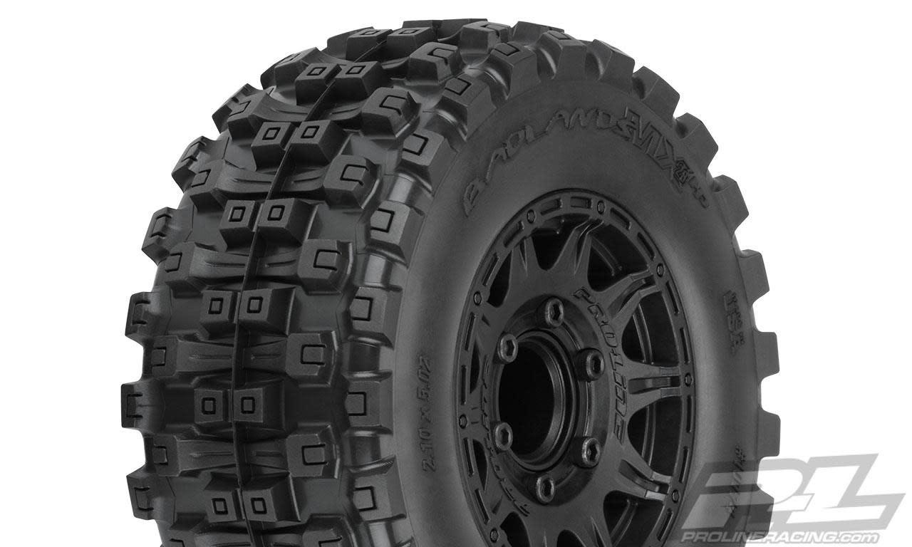 """Badlands MX28 HP 2.8"""" BELTED MTD Raid 6x30 F/R-1"""