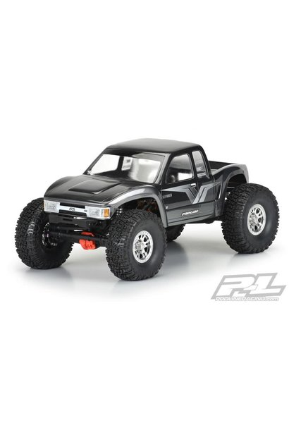 """Cliffhanger High Performance Clear Body for 12.3"""" (313mm) Wheelbase Scale Crawlers, PR3566-00"""